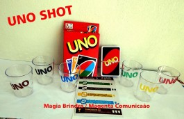 Kit 2 uno Shot - Uno Drink